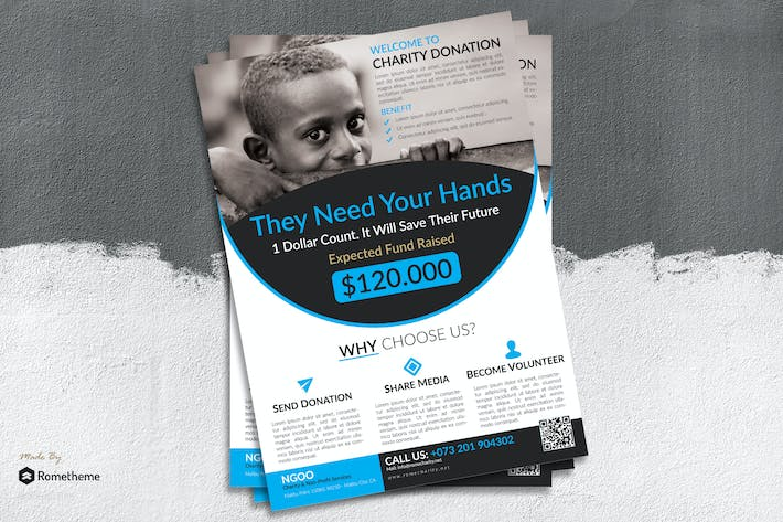 Thumbnail for Charity Flyer vol. 02
