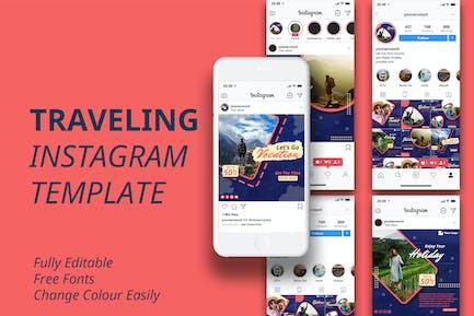 Travel Instagram Template MS