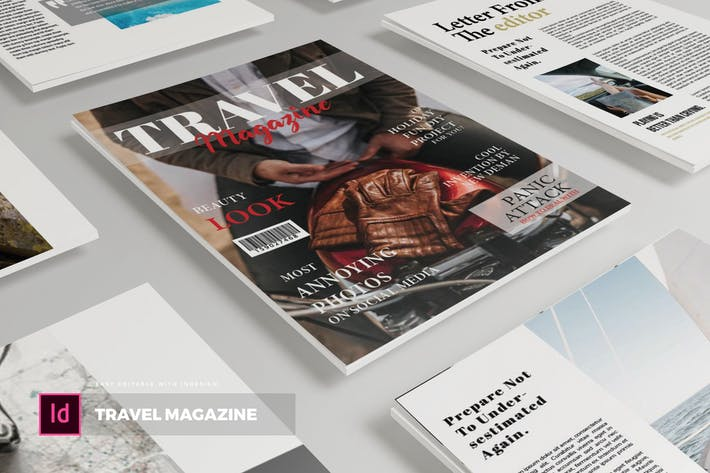Thumbnail for Travel | Magazine Template