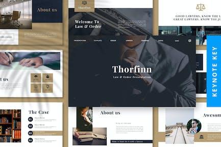Thorfinn - Keynote адвоката
