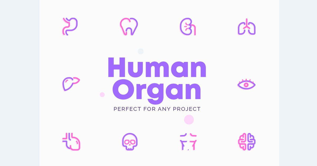 UICON Human Organ Icons by NEWFLIX