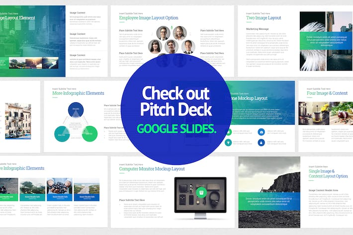 Thumbnail for Pitch Deck Google Slides