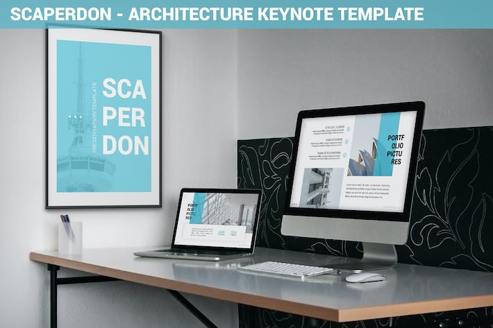 Thumbnail for Scaperdon - Architecture Keynote Template