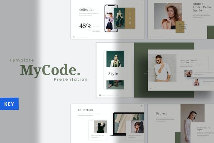 Thumbnail for MyCode -  Fashion Keynote Template