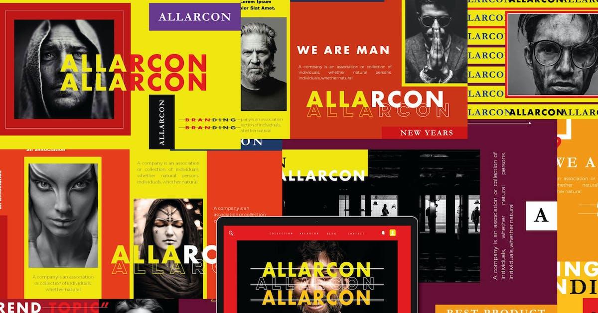 Download Allarcon - Keynote Template by axelartstudio