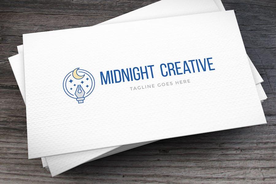 Midnight Creative Logo Template