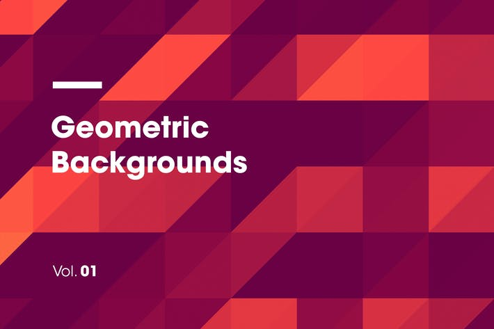 Thumbnail for Geometric Backgrounds | Vol. 01