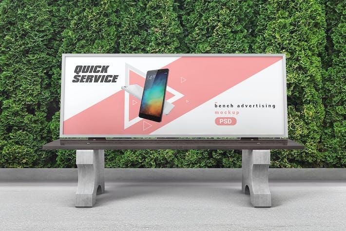 Thumbnail for Bench Werbung Mockup