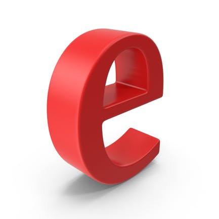 Letra minúscula E