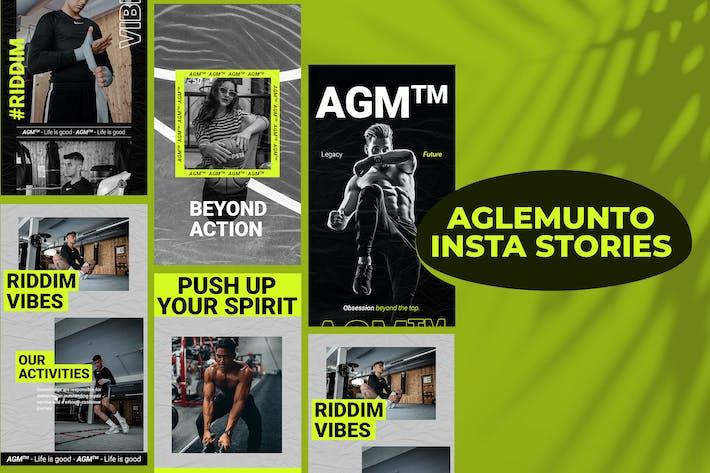 Thumbnail for Aglemunto Insta Story Template