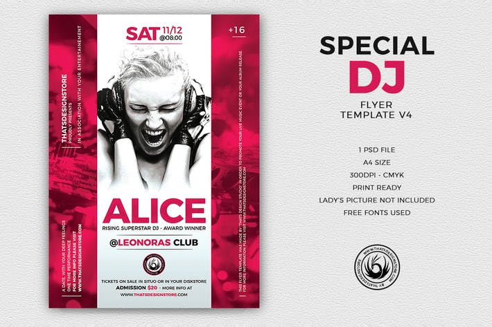 Thumbnail for Special Dj Flyer Template V4