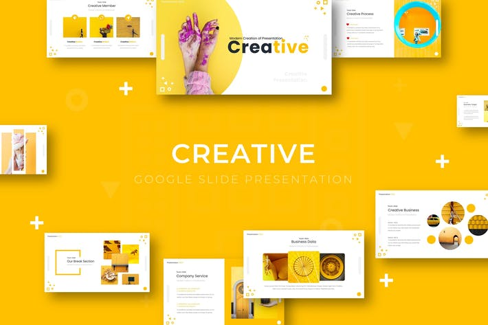 Creative - Google Slide Template