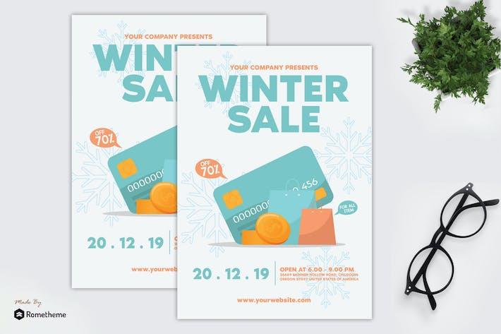 Thumbnail for Winter Sale - Flyer GR