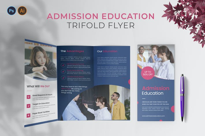 Admission Education – Trifold Brochure
