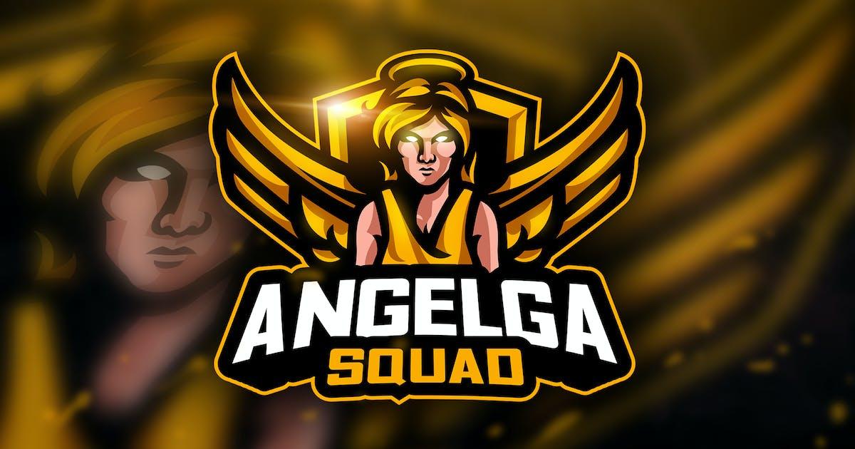 Download Angelga Squad- Mascot & Esport Logo by aqrstudio
