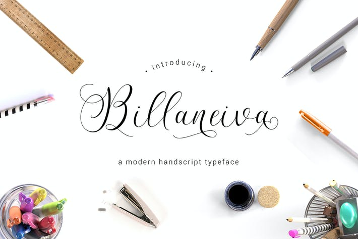 Thumbnail for Billaneiva Typeface