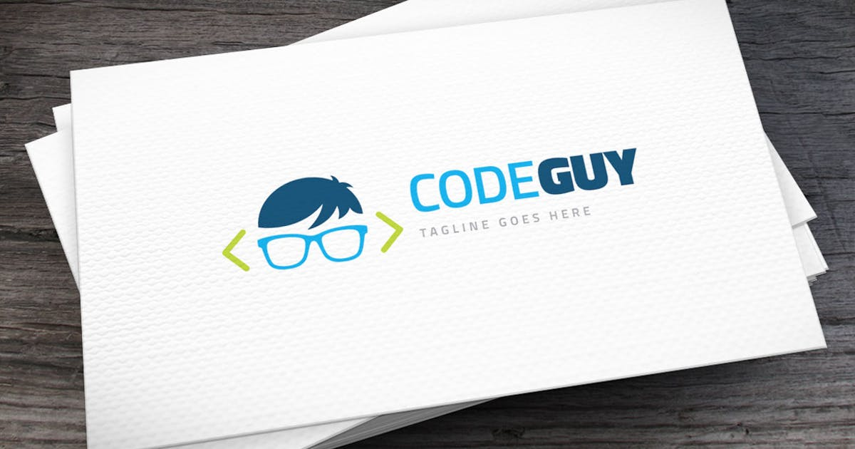 Download Code Guy Logo Template by empativo