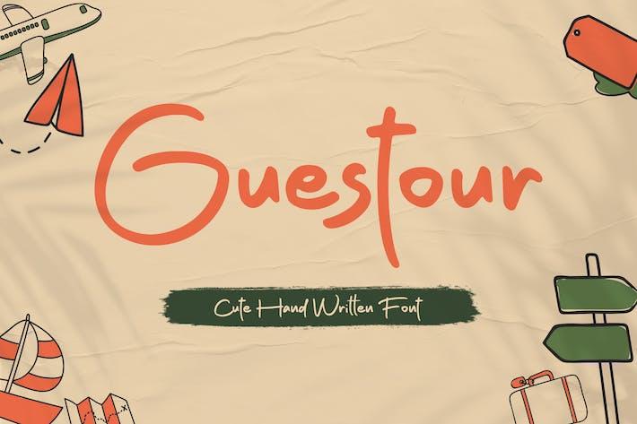 Guestour Travelling Font