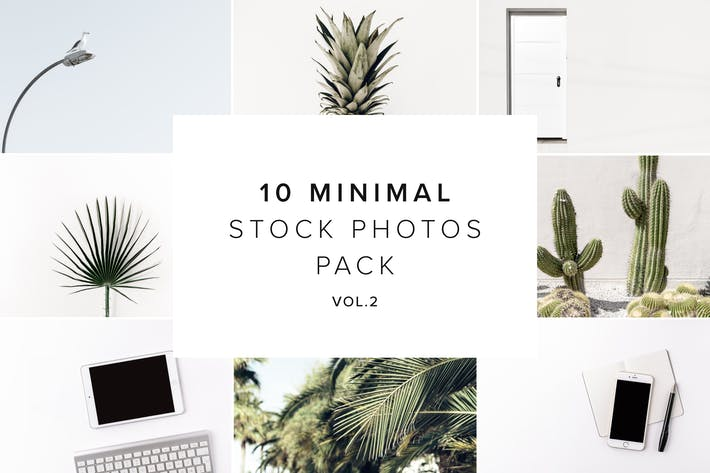 Cover Image For 10 Minimal Stock Photos Bundle vol.2