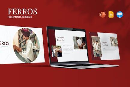 Feros - Presentation Template