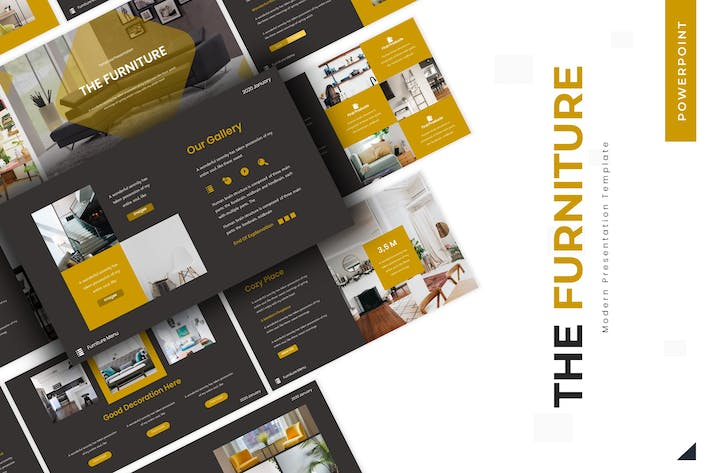 Thumbnail for The Furniture - Powerpoint Template