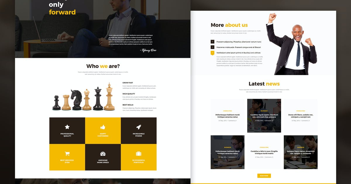 Download Forward - Business & Corporate HTML Template by dan_fisher