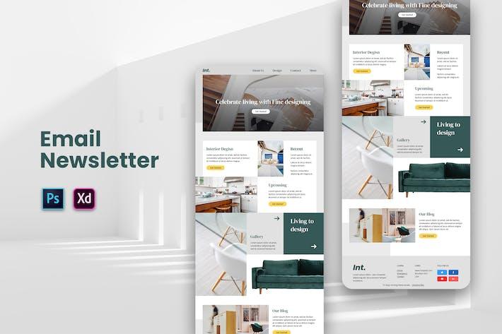 Thumbnail for Newsletter Living E-mail
