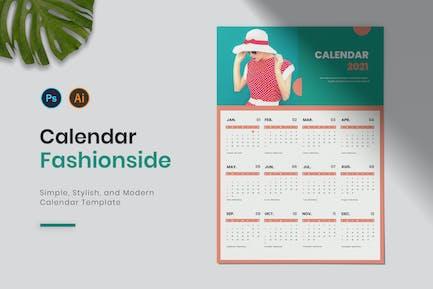 Fashionside Calendar