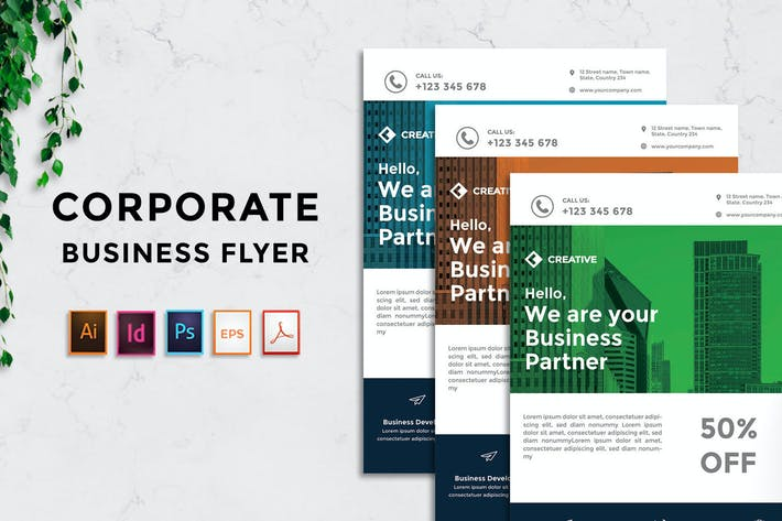 Thumbnail for Rantautemp - Business Corporate Flyer