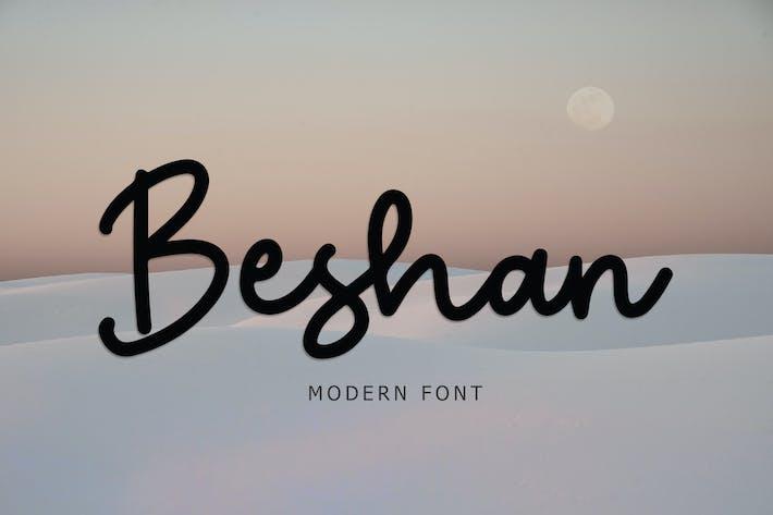 Thumbnail for Современный шрифт Beshan