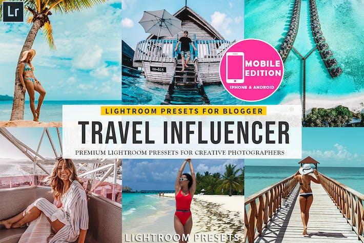 Thumbnail for Travel Influencer Lightroom Presets