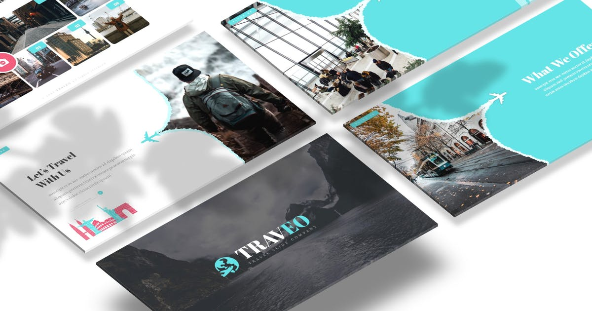 Download Traveo - Powerpoint Template by Macademia