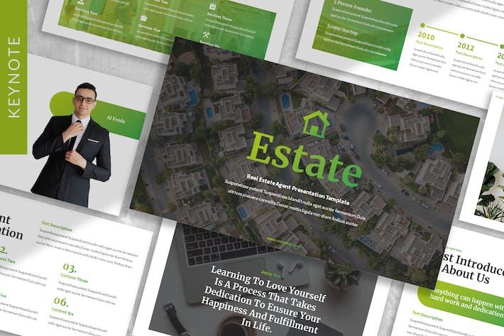 Estate - Property Keynote Template