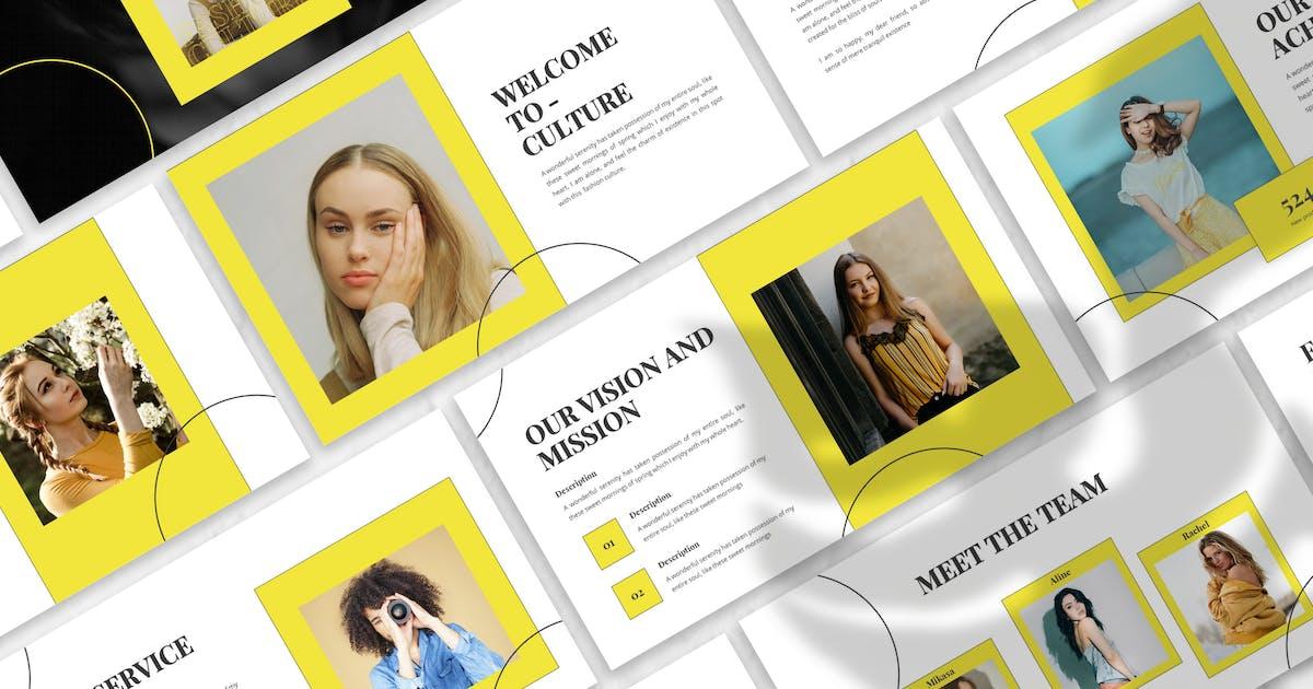 Download Culture - Fashion Google Slide Template by designesto