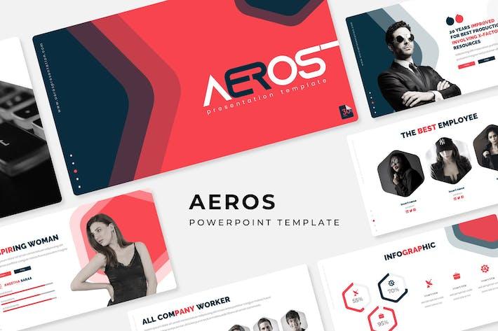 Thumbnail for Aeros - Plantilla Powerpoint