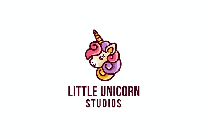 Thumbnail for Little Unicorn Studio Logo Template