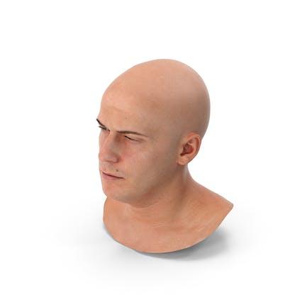 Marcus menschlicher Kopf schielen