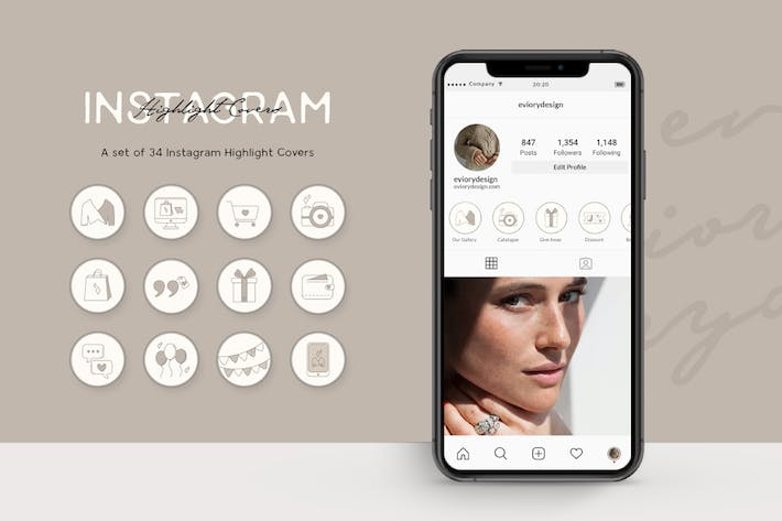 Thumbnail for Instagram Highlight Shop and Business