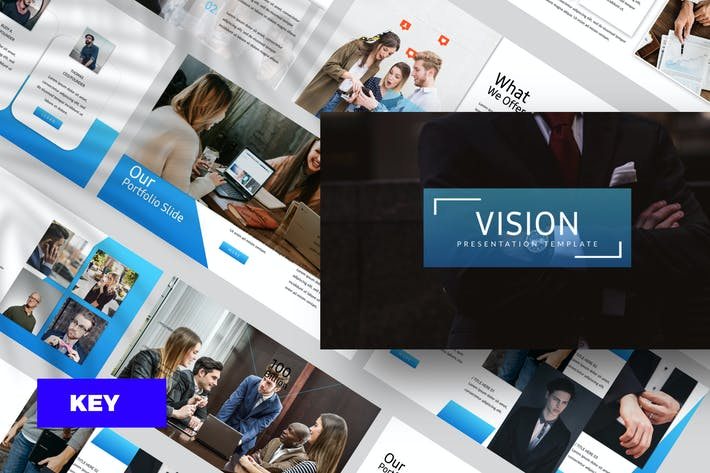 Thumbnail for Vision Corporate Keynote