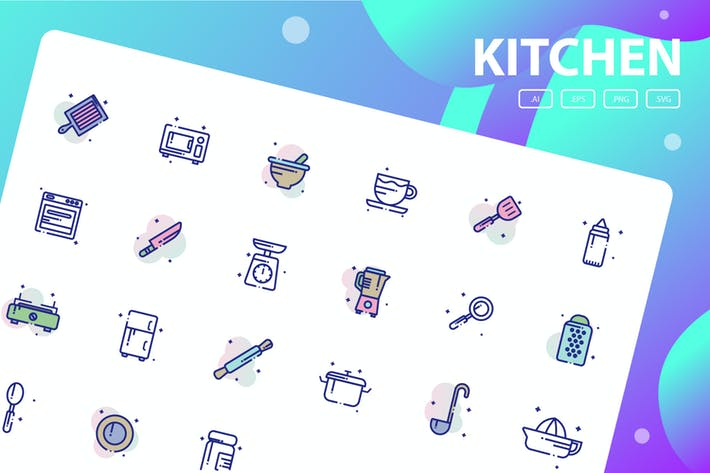 Thumbnail for Kitchen Icon Pack