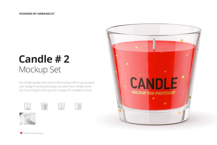 Thumbnail for Candle Mockup 2