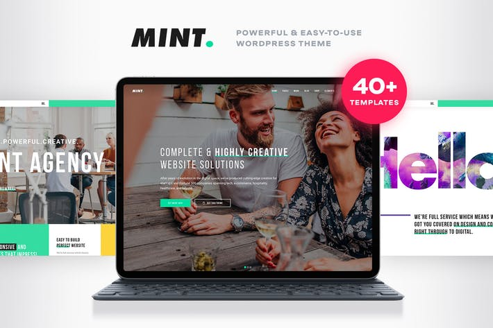 Thumbnail for Mint - Creative Multi-Purpose WordPress Theme