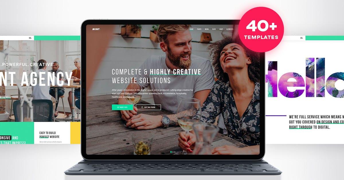 Download Mint - Creative Multi-Purpose WordPress Theme by tvdathemes