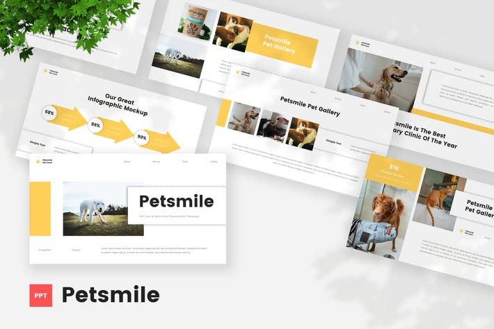 Pet Care & Vetenary PowerPoint Template
