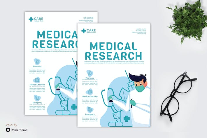 Medical Research - Creative Flyer GR