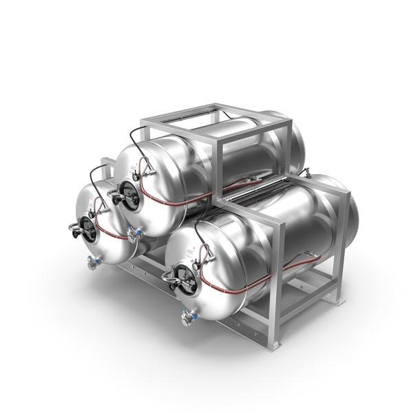 Beer Storage Tank System