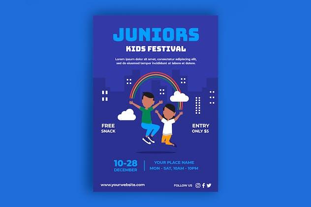 Kids Festival Poster