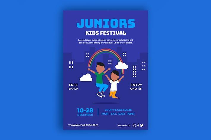 Thumbnail for Affiche du festival pour enfants
