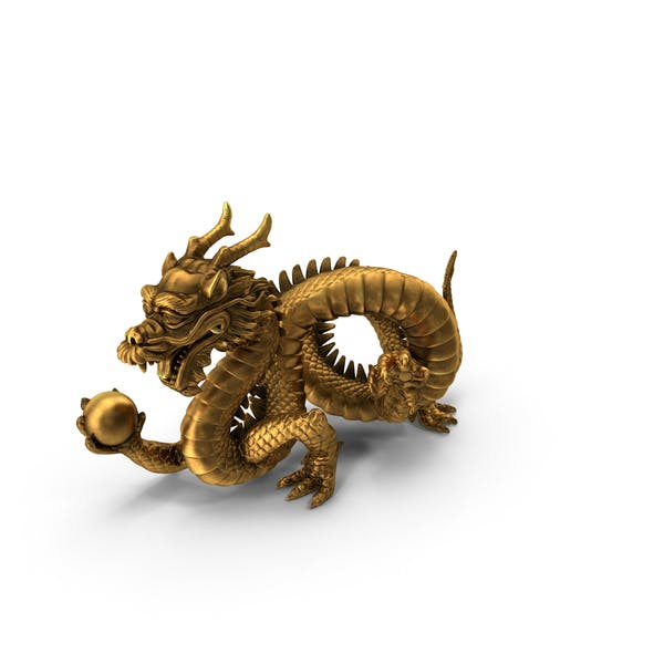 Thumbnail for Chinese Dragon Statue