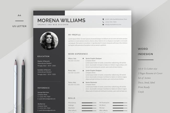Thumbnail for Resume Template Cv